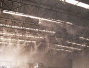 Nawilżanie powietrza w stolarni